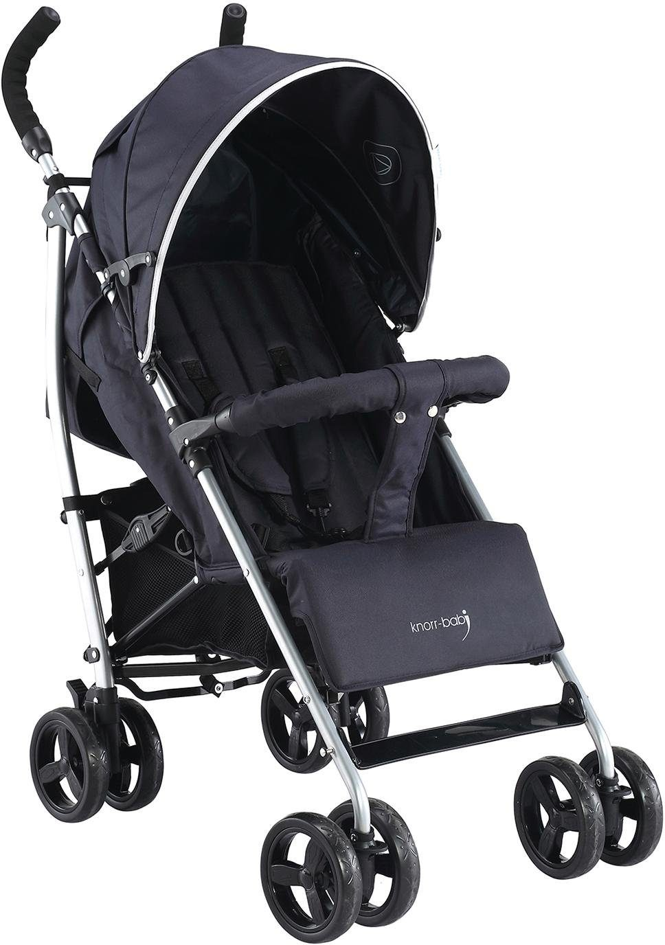 knorr-baby Buggy, »Styler Happy Colour, schwarz«