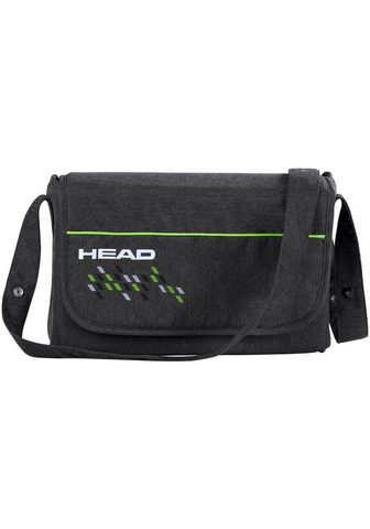 KNORRBABY Mamos rankinė »HEAD darkgrey-green«