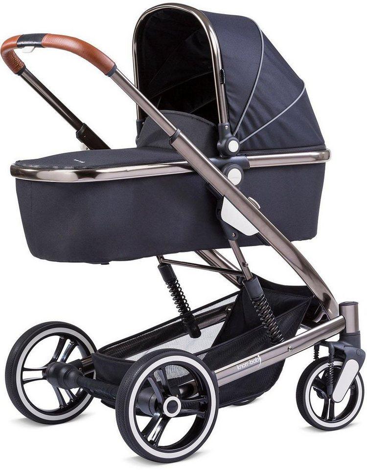 knorr baby kombi kinderwagen set zoomix schwarz online. Black Bedroom Furniture Sets. Home Design Ideas