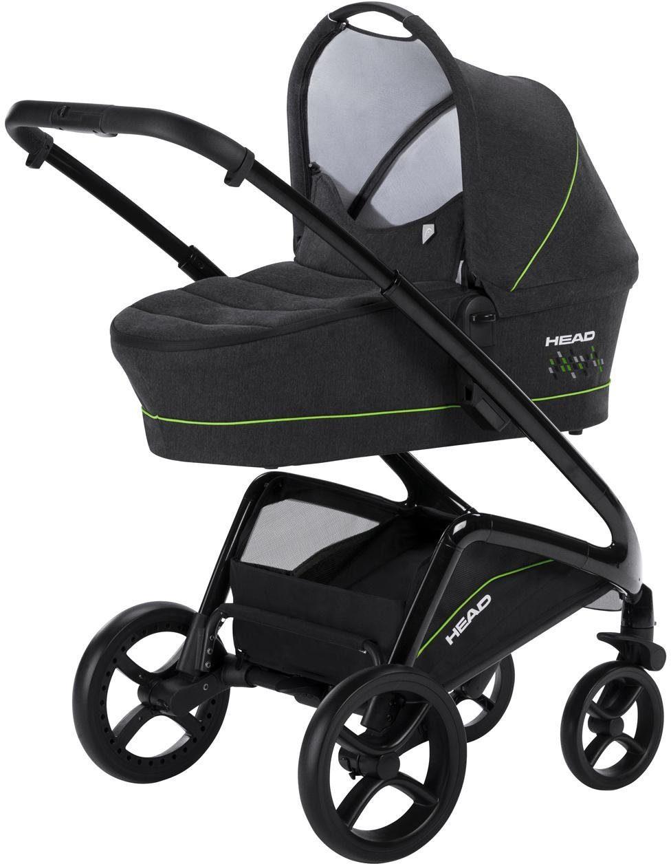 knorr-baby Kombi-Kinderwagen Set, »HEAD, darkgrey-green«