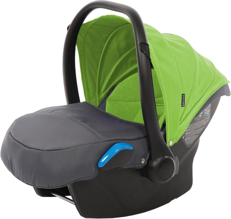 knorr-baby Babyschale, 0 - 13 kg, »Milan für Voletto Sport, grau-lemon«