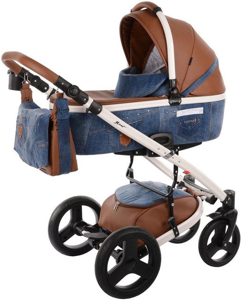 knorr baby kombi kinderwagen set k one jeans blue jeans. Black Bedroom Furniture Sets. Home Design Ideas