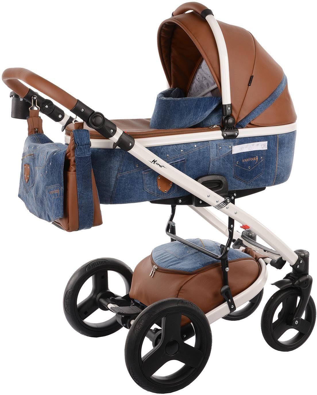 knorr-baby Kombi-Kinderwagen, »K-One Jeans, blue jeans«