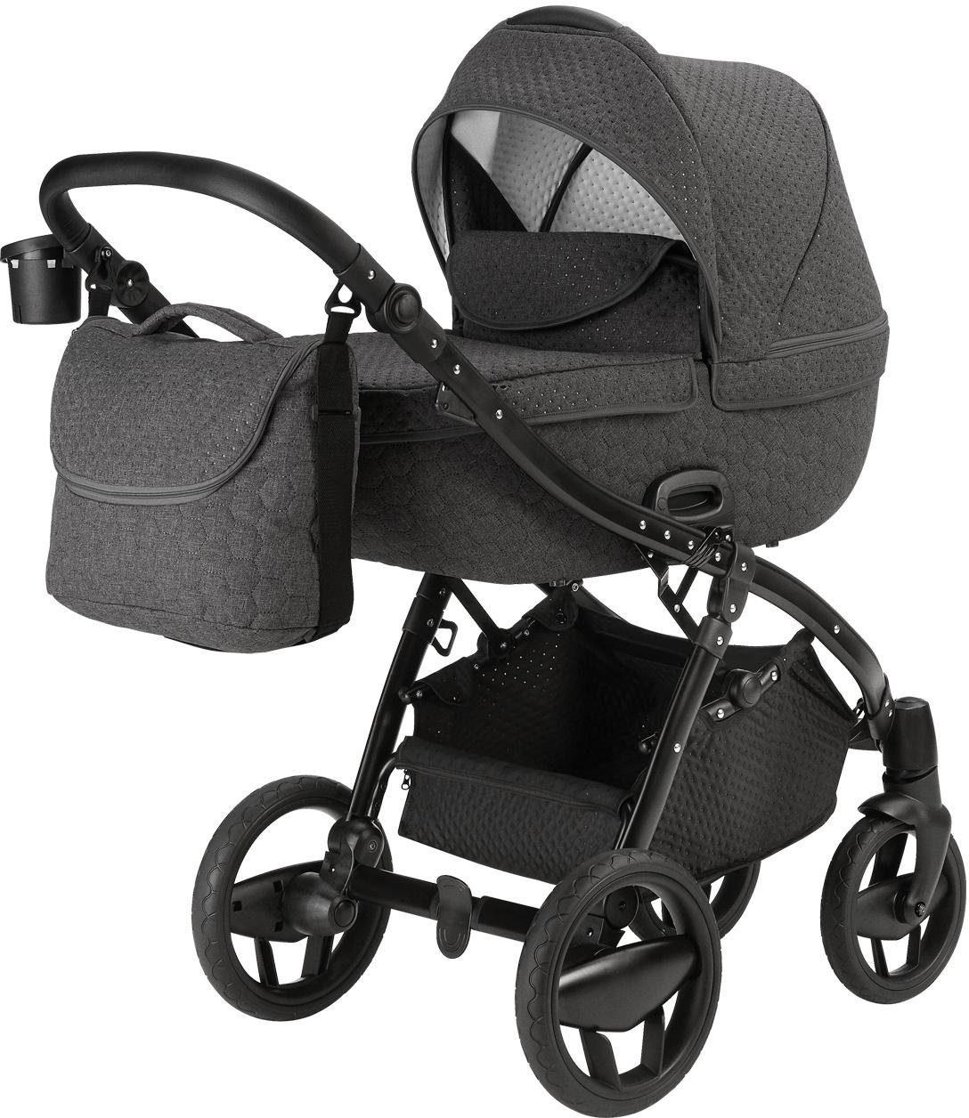 knorr-baby Kombi-Kinderwagen Set, »Piquetto, grau«
