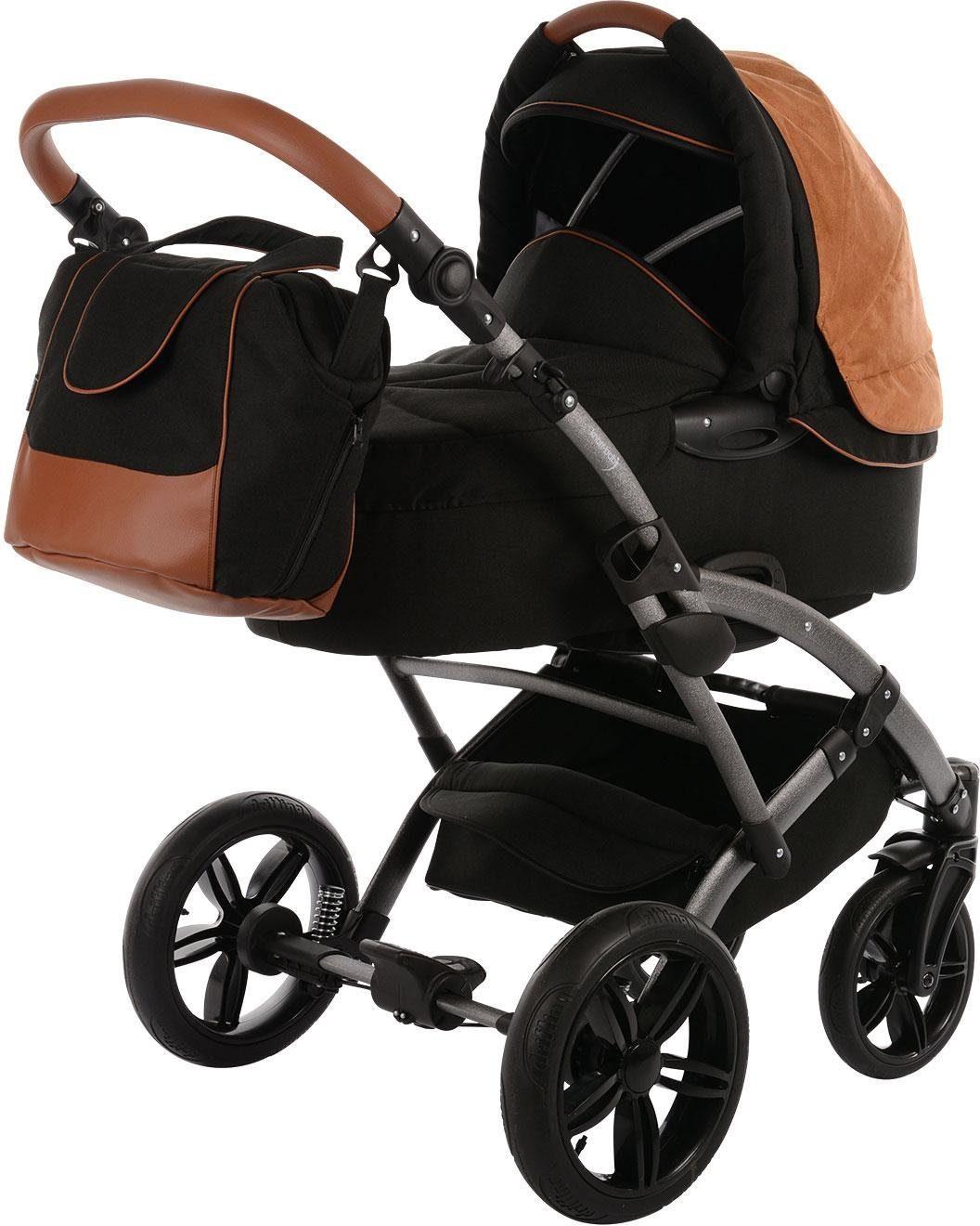 knorr-baby Kombi-Kinderwagen Set, »Voletto Premium, schwarz«