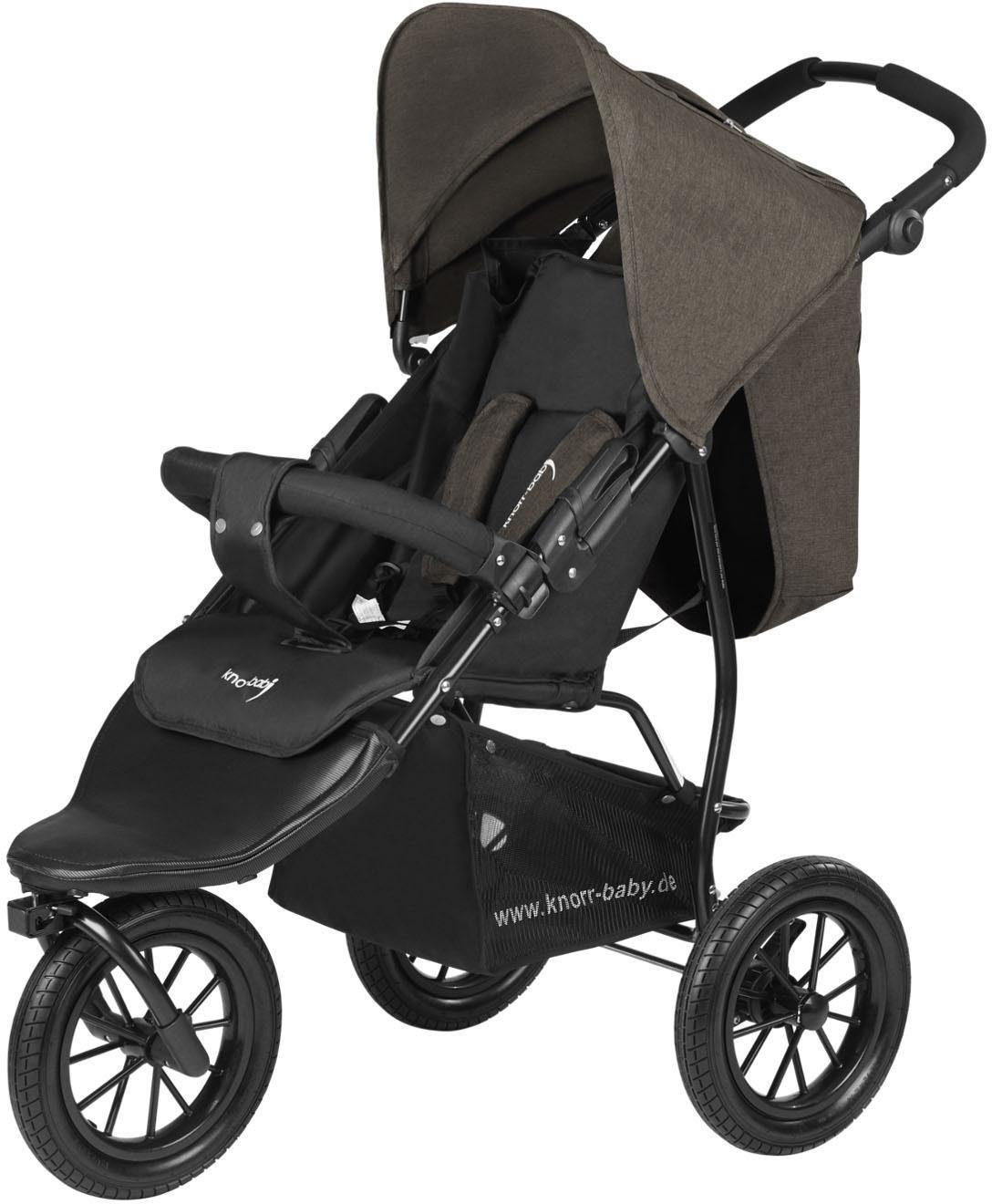 knorr-baby Jogger-Kinderwagen, »Joggy S Melange, braun«