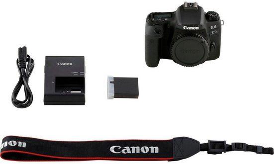 Canon »EOS-77D« Spiegelreflexkamera (24,2 MP, NFC, WLAN (Wi-Fi), Bluetooth)