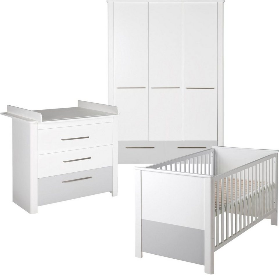Roba Babyzimmer Set (3-tlg.), Kinderzimmer, »Linus« online kaufen | OTTO
