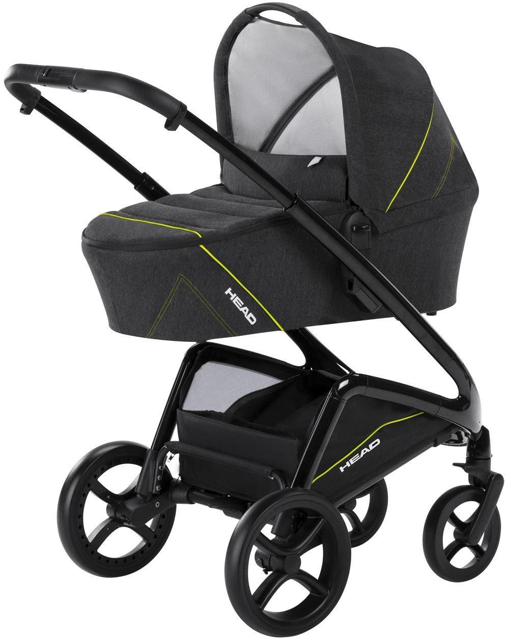 knorr-baby Kombi-Kinderwagen, »HEAD, grey-yellow«