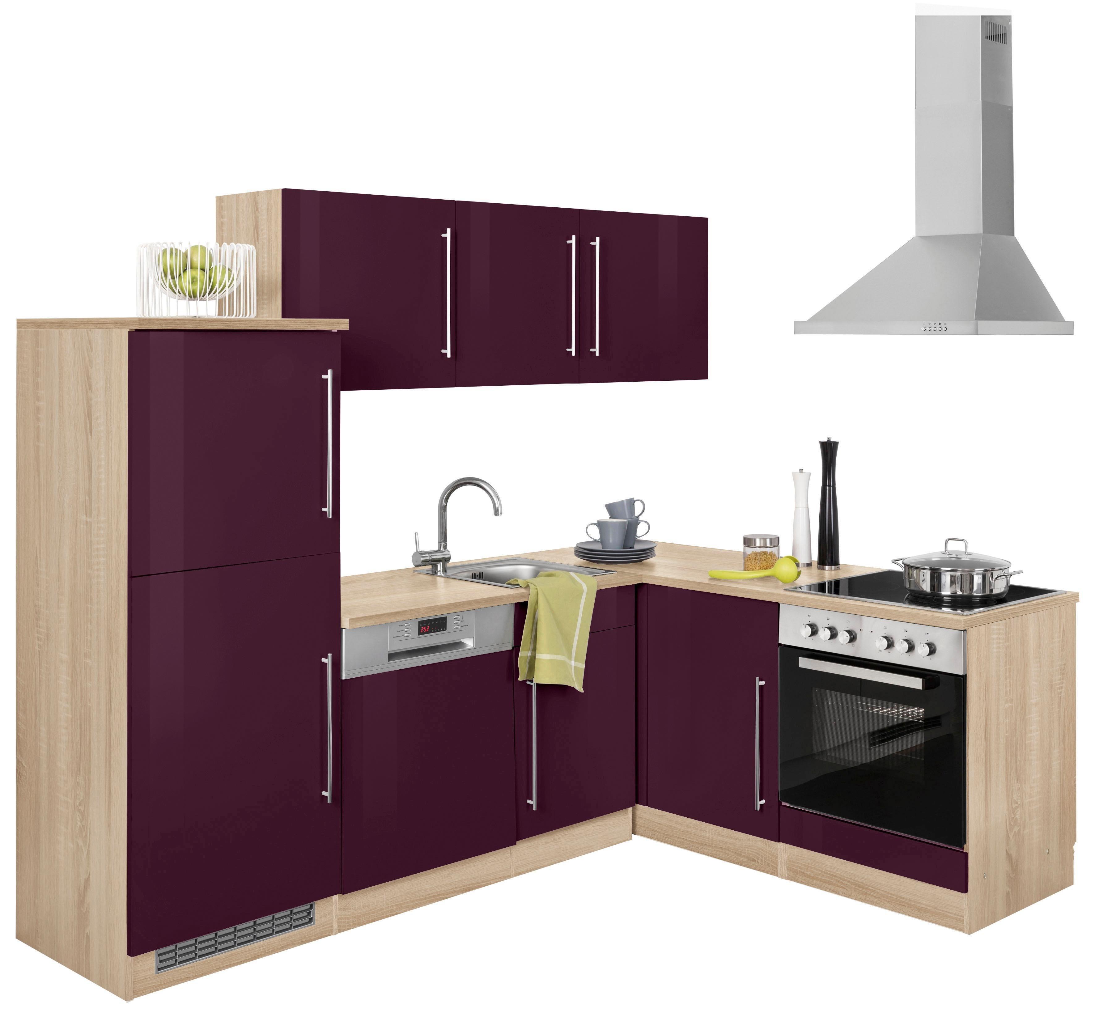 spanplatte winkelk chen online kaufen m bel suchmaschine. Black Bedroom Furniture Sets. Home Design Ideas