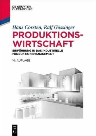 Broschiertes Buch »Produktionswirtschaft«