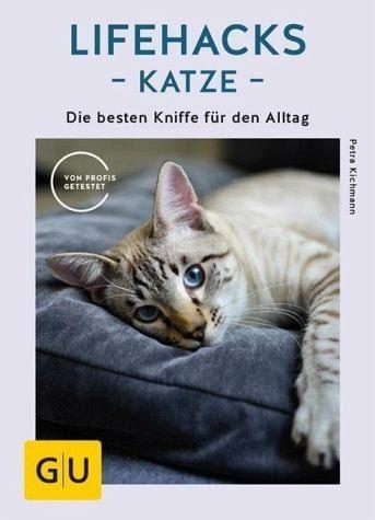 Broschiertes Buch »Lifehacks Katze«