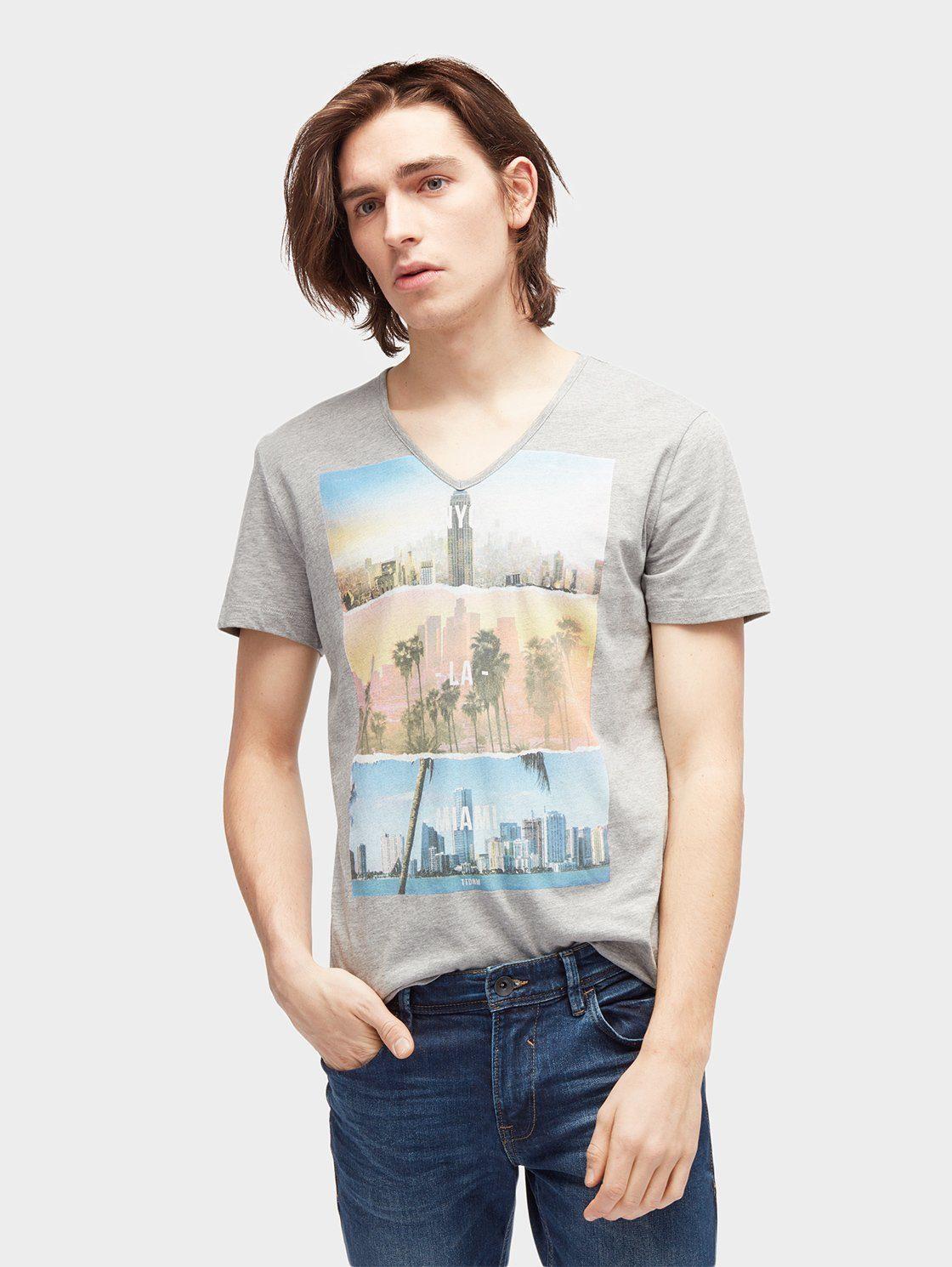 Tom Tailor Denim T-Shirt »T-Shirt mit Foto-Print« jetztbilligerkaufen