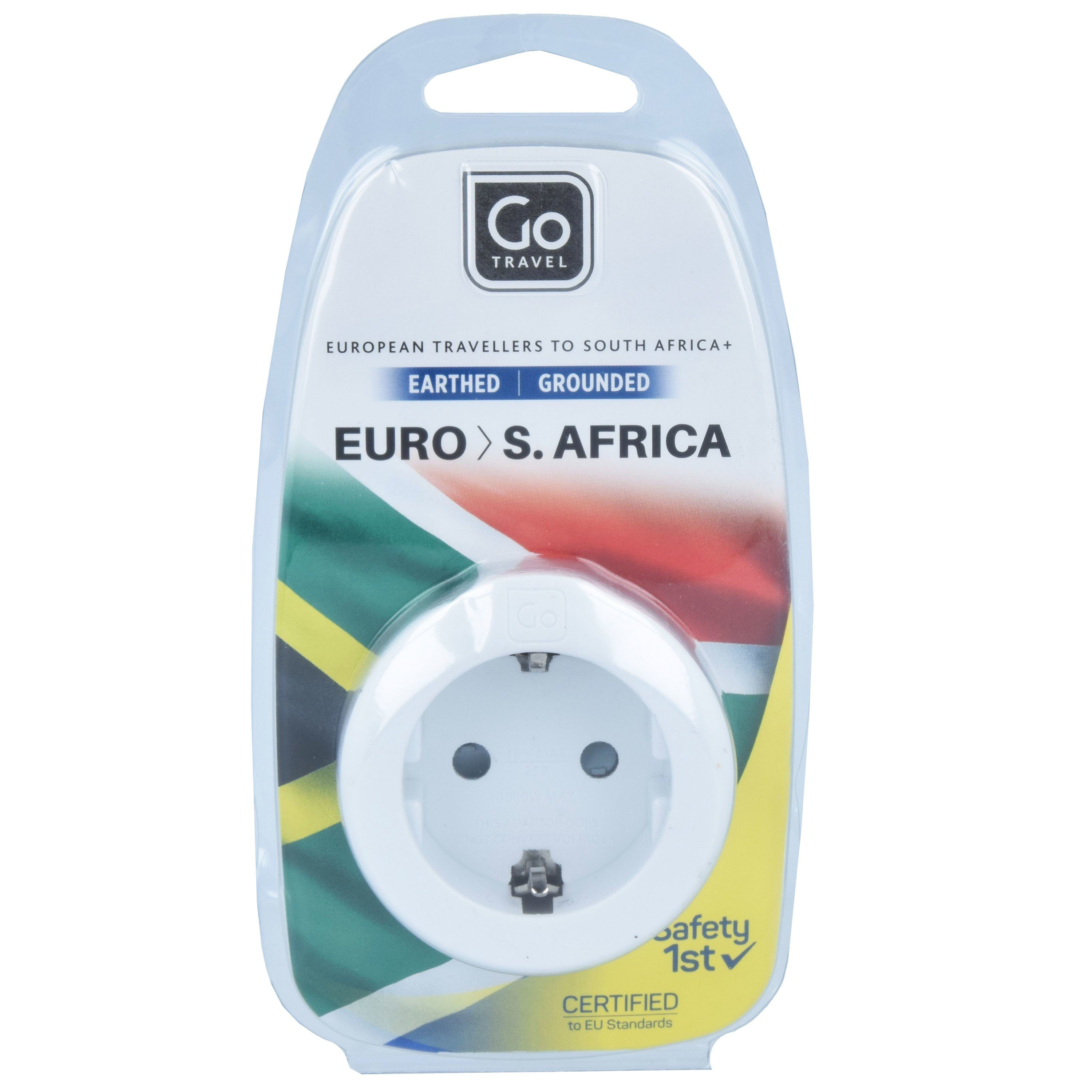 Go Travel Euro-South Africa Adapter 5,5 cm