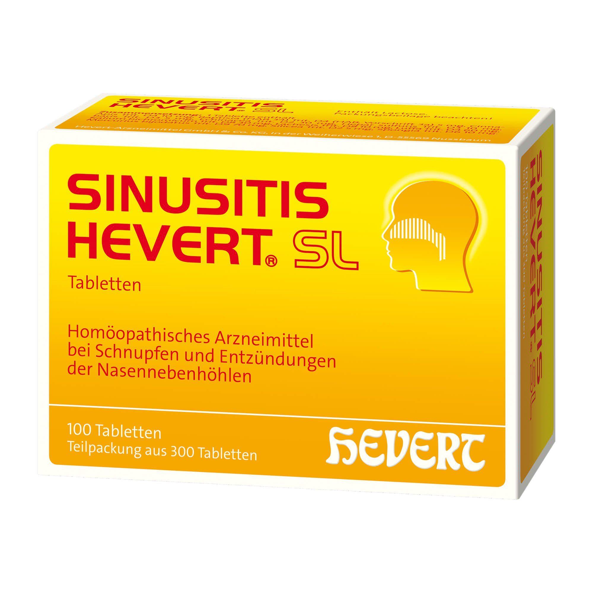 SINUSITIS HEVERT SL, 300 St