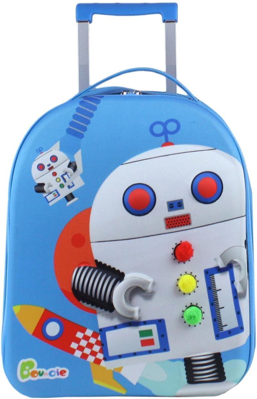 CHIC2000 Weichgepäck-Trolley für Kinder, »Bouncie, Roboter«