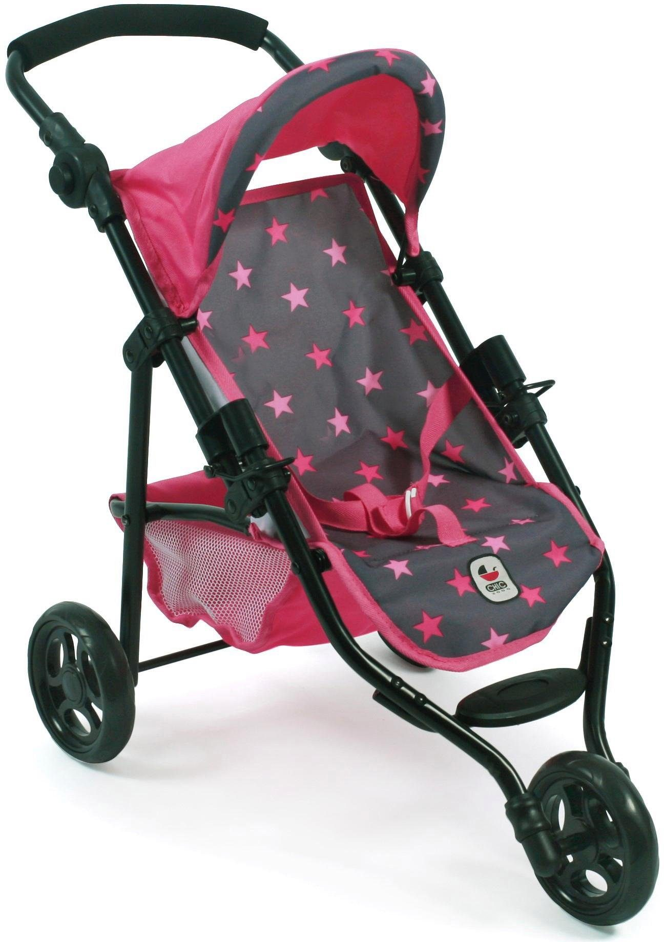CHIC2000 Puppen-Buggy, »Lola, Stars Pink«