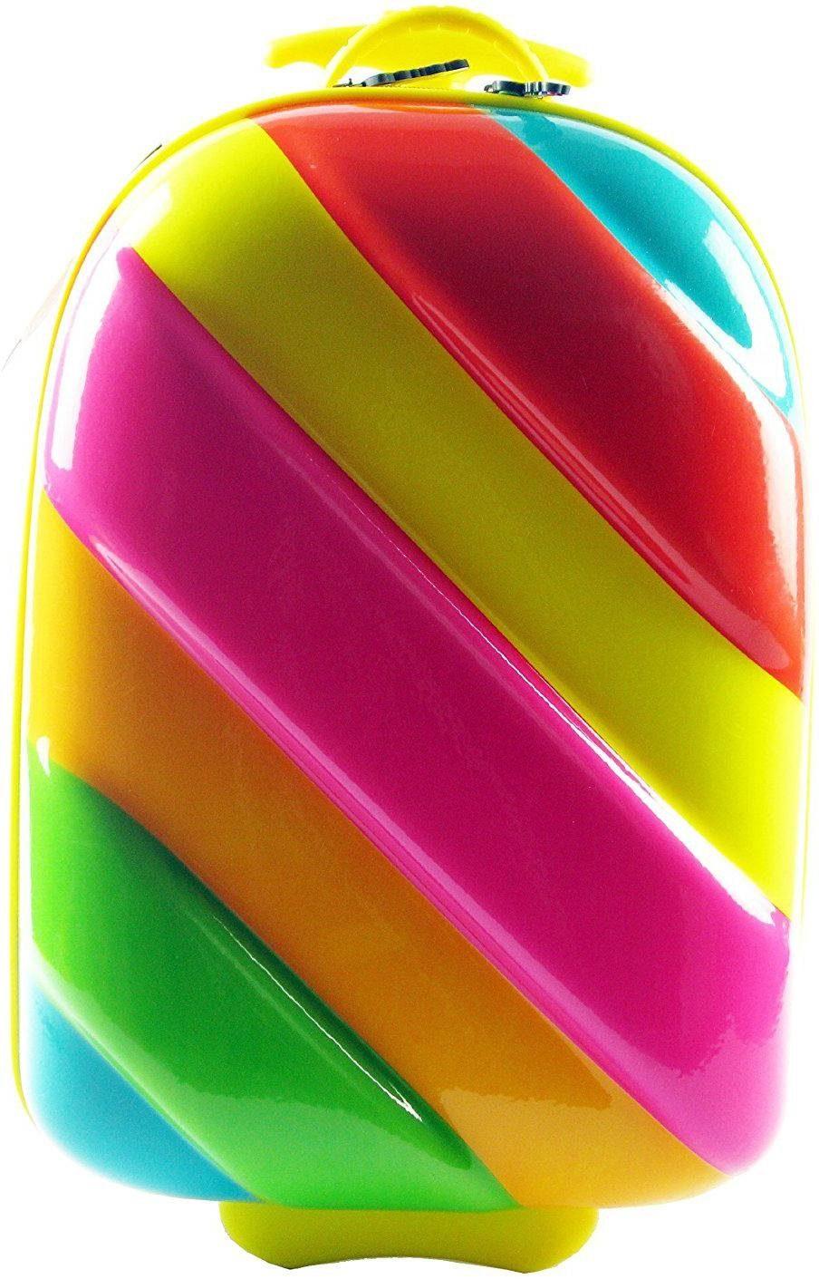 CHIC2000 Hartschalen-Trolley für Kinder, »Bouncie, Rainbow«