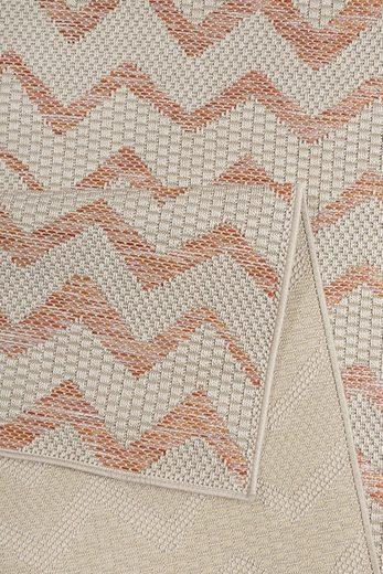 Teppich »Zig Zag«  Esprit  rechteckig  Höhe 5 mm  In- und Outdoor geeignet