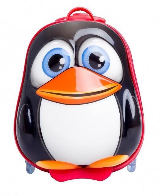 chic2000 hartschalen trolley f r kinder bouncie pinguin online kaufen otto. Black Bedroom Furniture Sets. Home Design Ideas