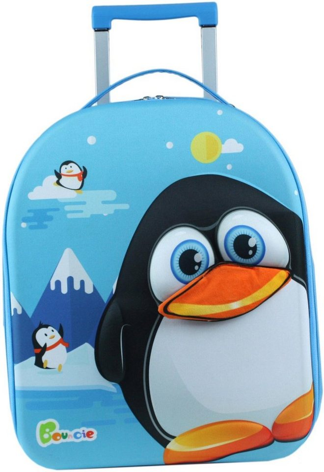 chic2000 weichgep ck trolley f r kinder bouncie pinguin online kaufen otto. Black Bedroom Furniture Sets. Home Design Ideas