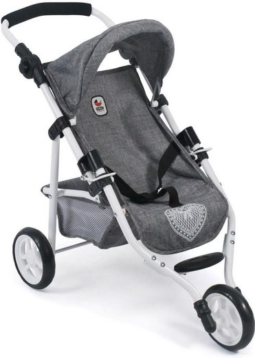 CHIC2000 Puppenbuggy »Lola, Jeans Grey«
