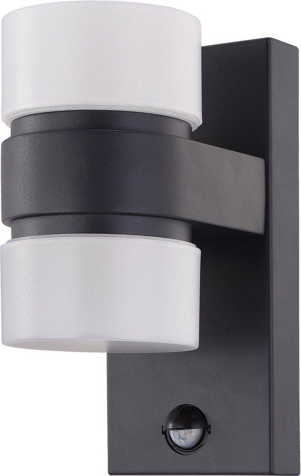Bevorzugt EGLO LED Außen-Wandleuchte »ATOLLARI«, Inkl. Bewegungsmelder FF78