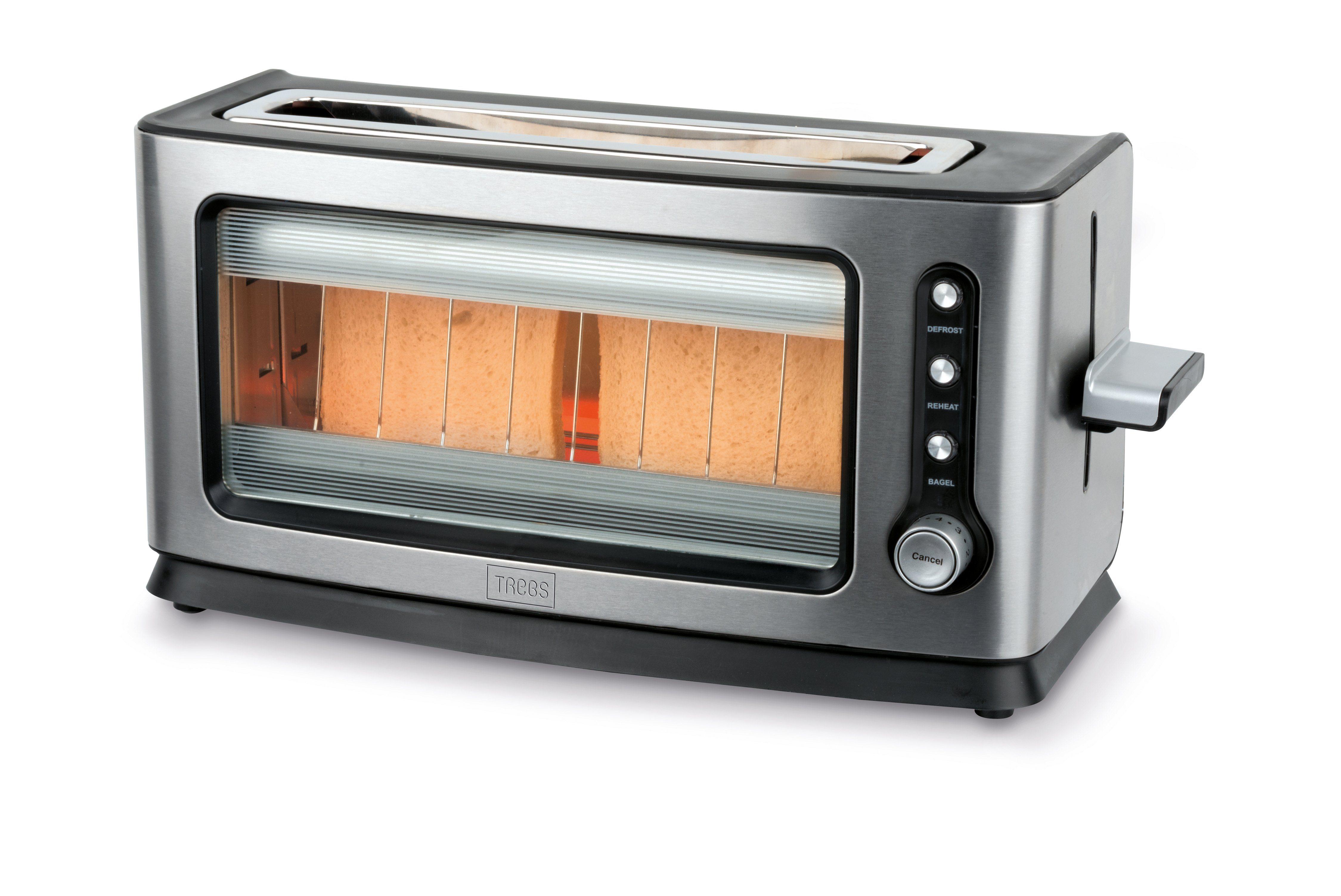 Trebs Infrarot Toaster mit Sichtfenster, 900 W »Comfortcook 99320«