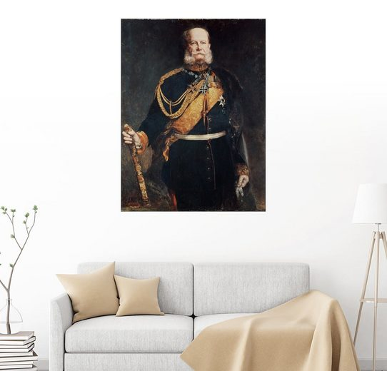 Posterlounge Wandbild - Gottlieb Biermann »Kaiser Wilhelm I.«