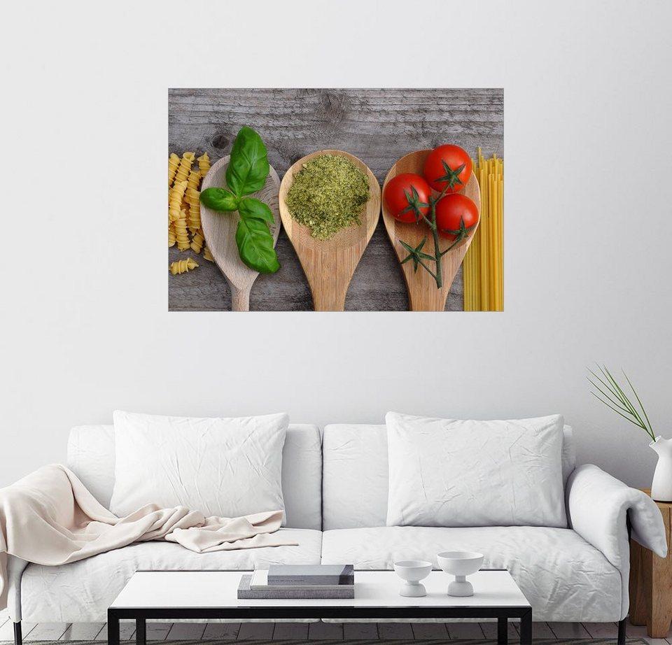 Posterlounge Wandbild Sarnade Italienische Kuche Online Kaufen