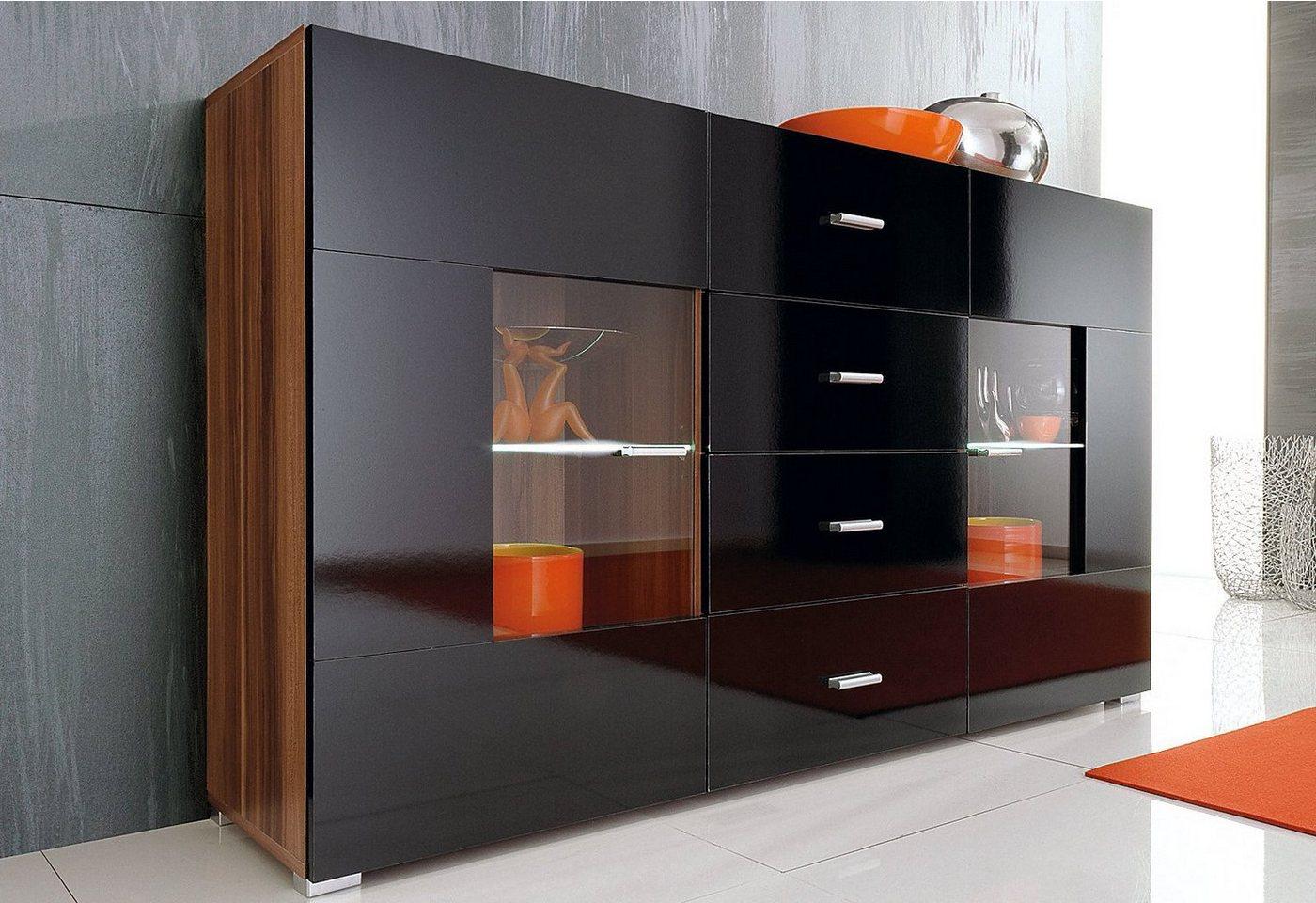 sideboard weiss gl nzend machen sie den preisvergleich. Black Bedroom Furniture Sets. Home Design Ideas