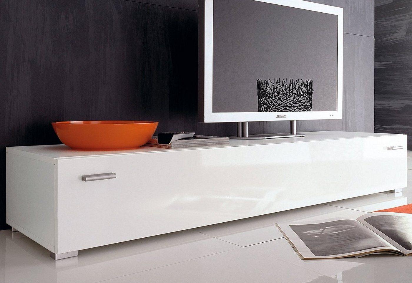 TV-Lowboard, weiß, Breite...