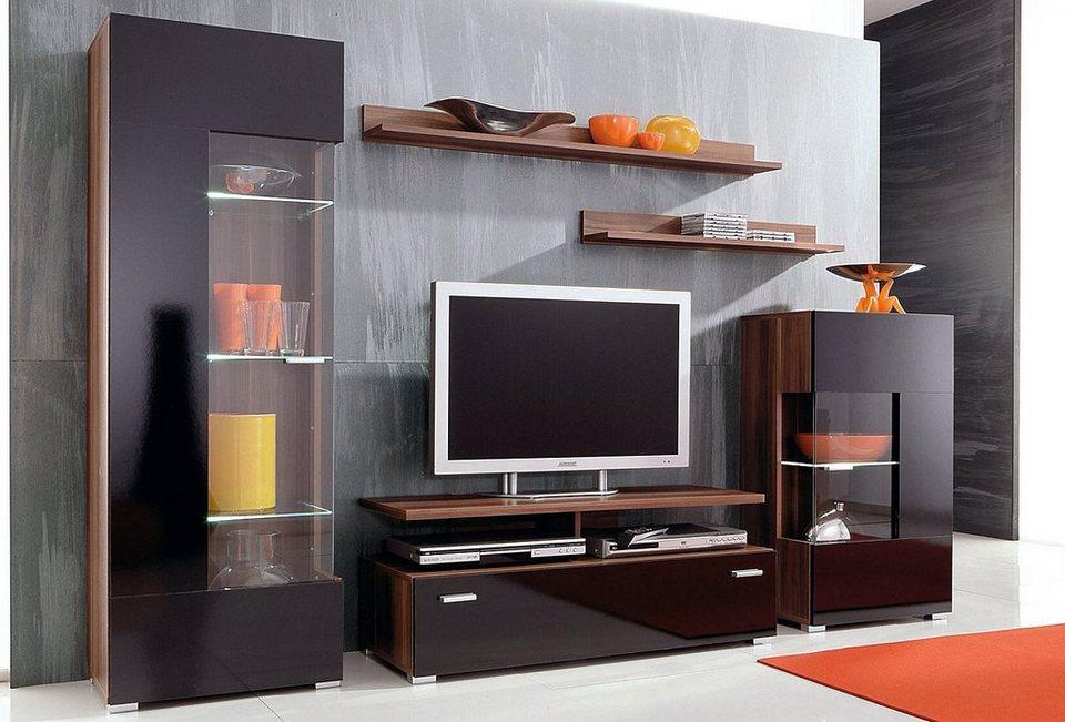 anbauwand 6 tlg online kaufen otto. Black Bedroom Furniture Sets. Home Design Ideas
