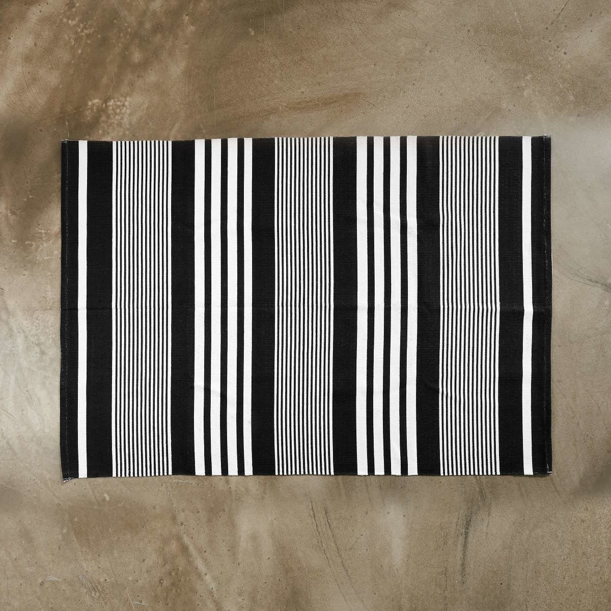 BUTLERS SILENT DANCER »Teppich gestreift 120x170 cm«