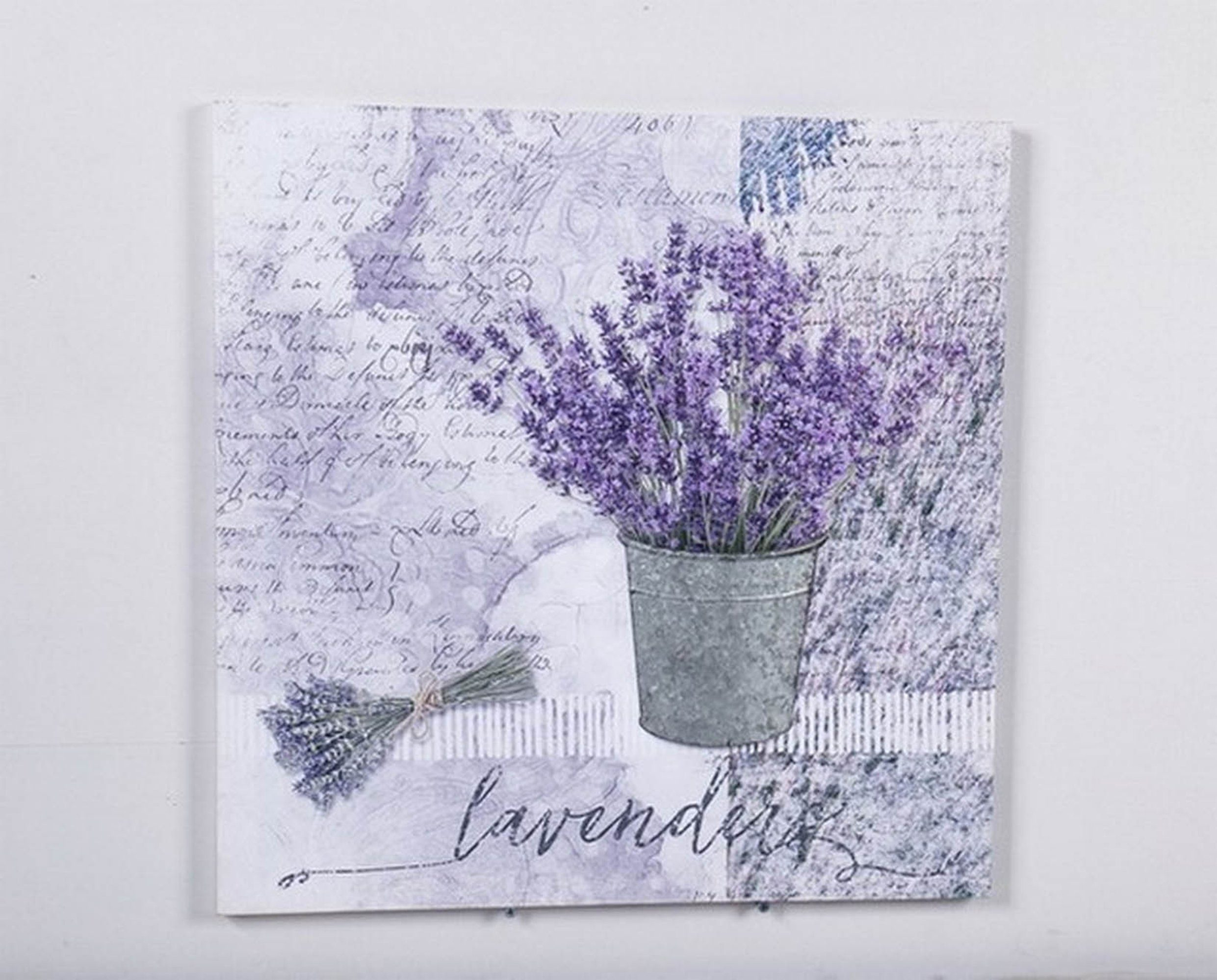 HTI-Line 3D Bild »Lavendel«