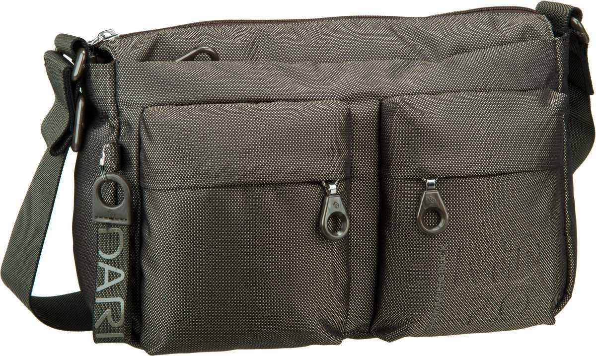 Umhängetasche MD20 Crossover Bag QMTX5 Black Mandarina Duck
