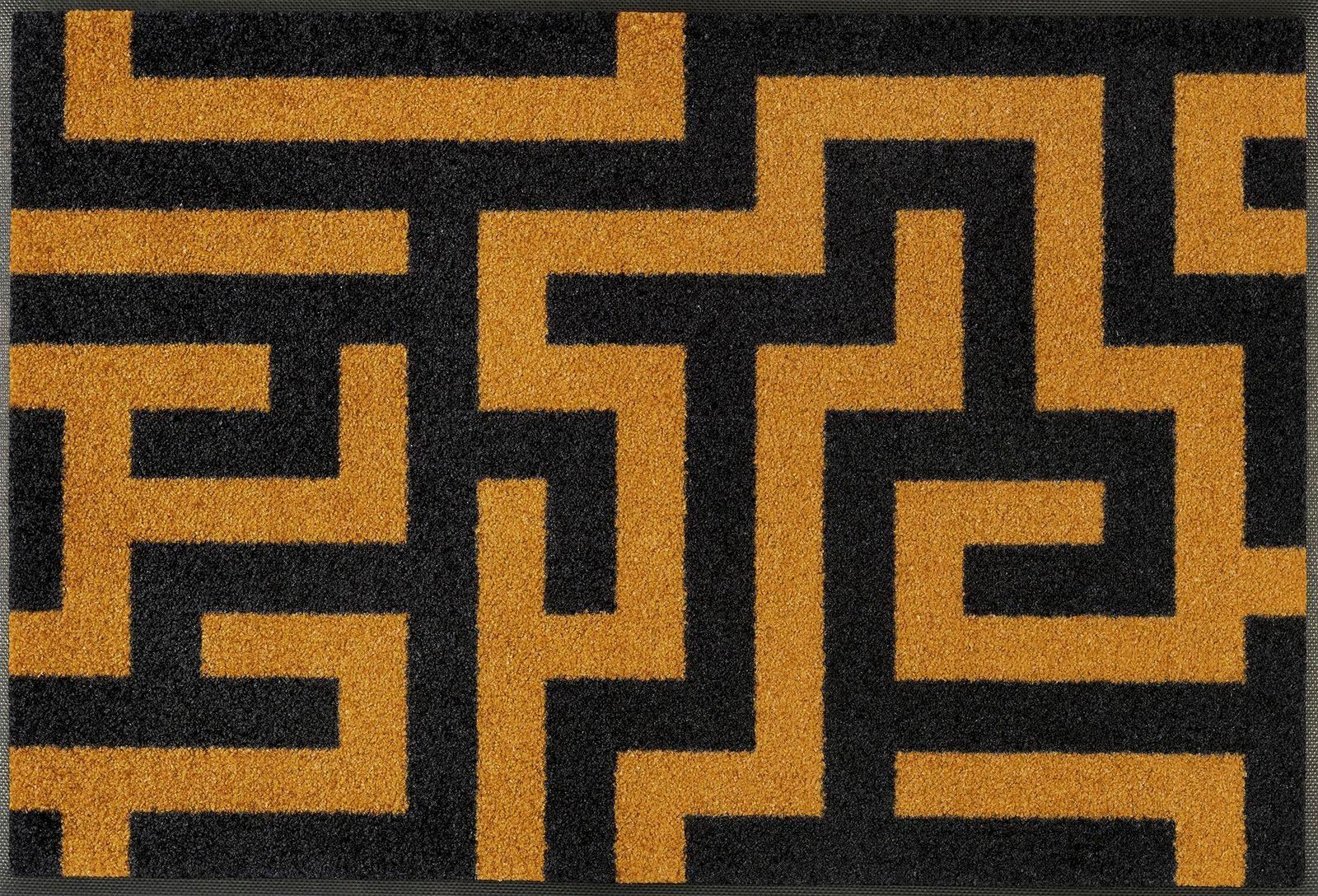 Fußmatte »Labyrinth«, wash+dry by Kleen-Tex, rechteckig, Höhe 7 mm