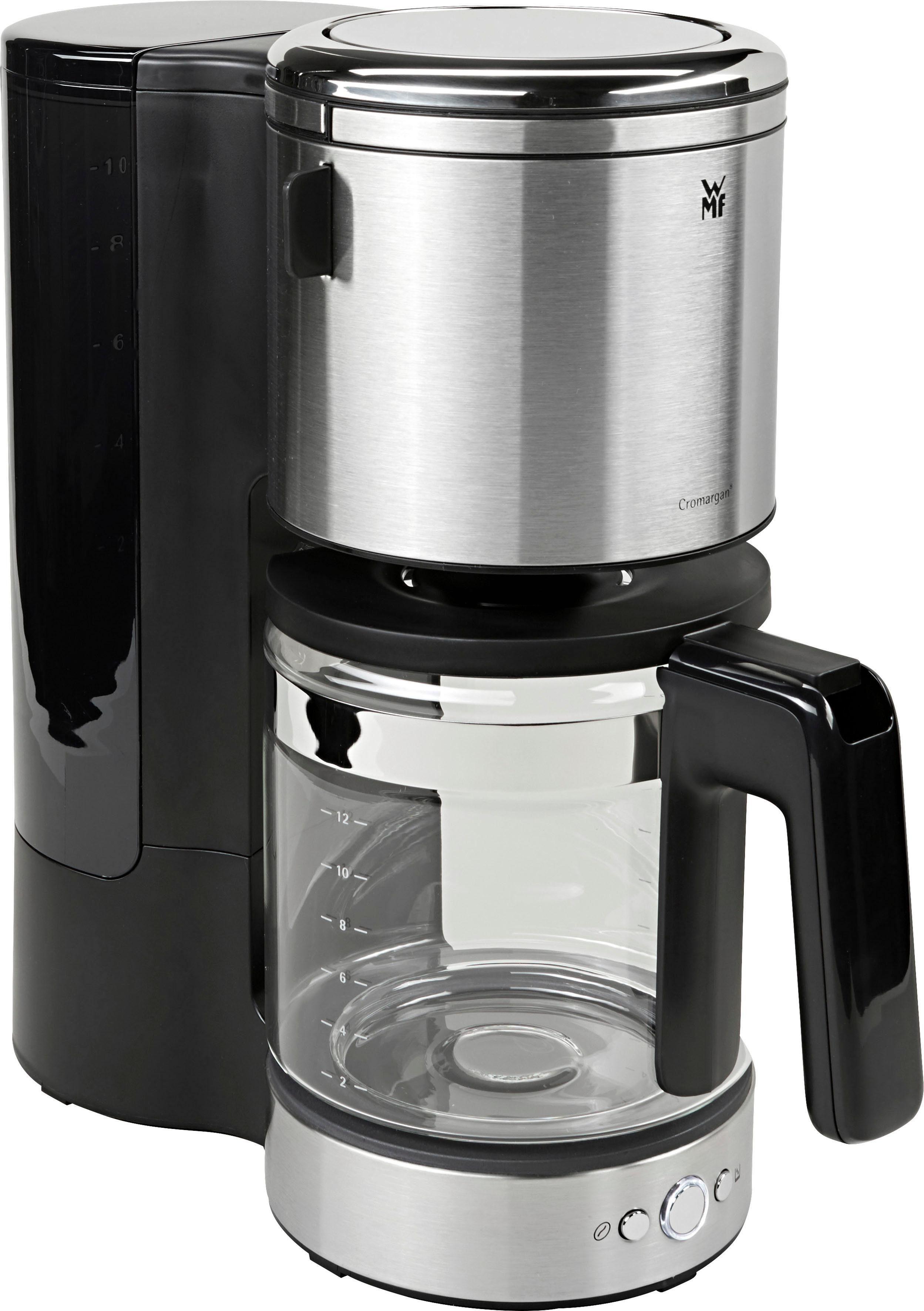 WMF Filterkaffeemaschine LONO, 1,5l Kaffeekanne, Papierfilter, mit Aromaglaskanne
