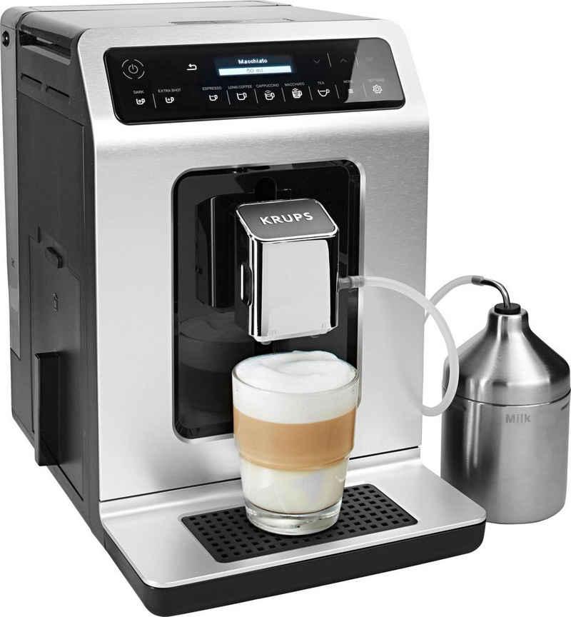 Krups Kaffeevollautomat EA891D Evidence Metal Espresso-Vollautomat, mit 15 Voreinstellungen
