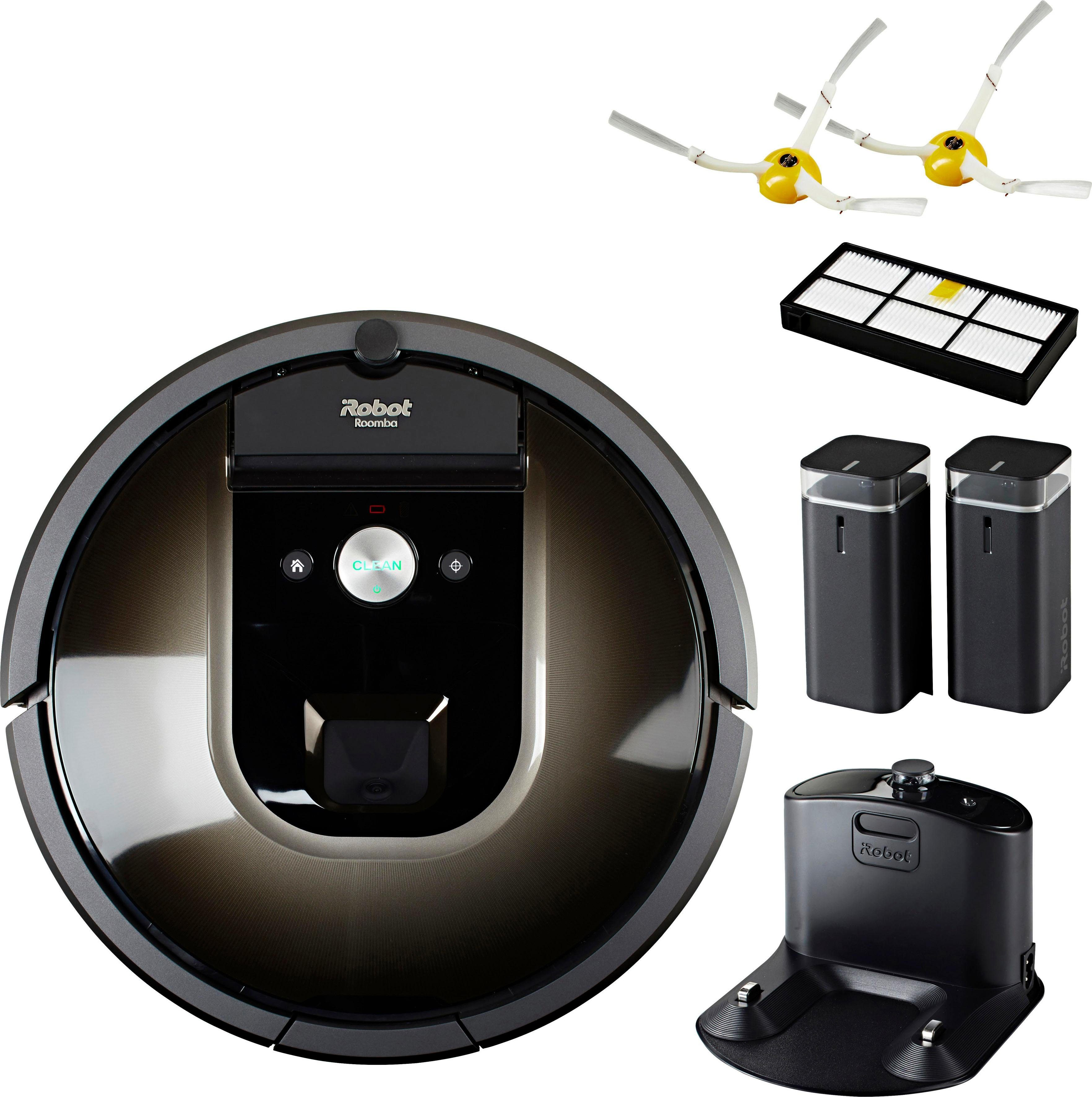 iRobot Saugroboter Roomba 980, beutellos, App-fähig