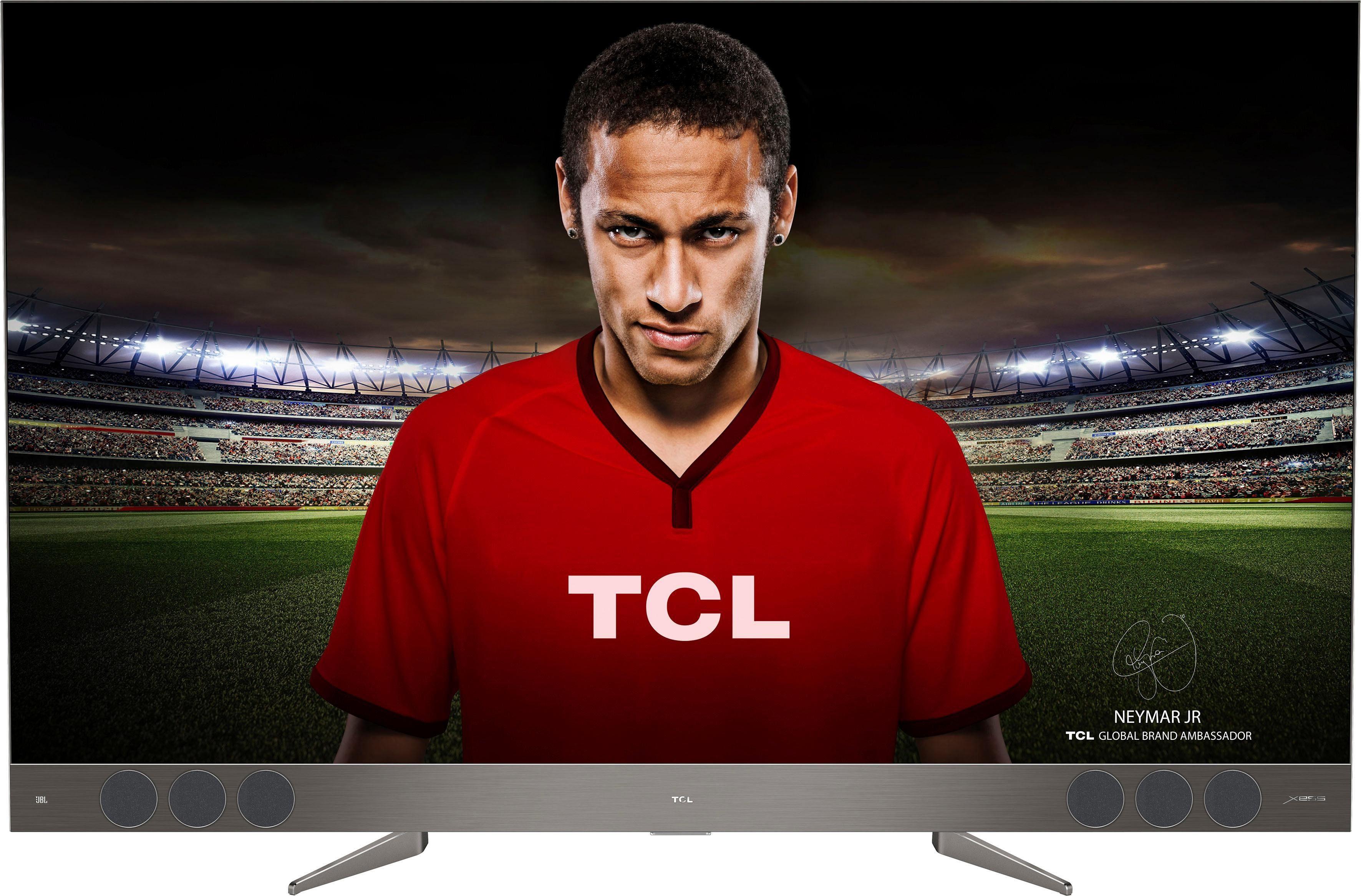 TCL U55X9006 QLED-Fernseher (139,7 cm/55 Zoll, 4K Ultra HD, Smart-TV)