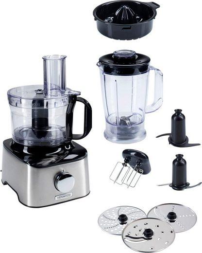 KENWOOD Kompakt-Küchenmaschine Multipro Compact FDM301SS, 800 W, 2,1 l Schüssel