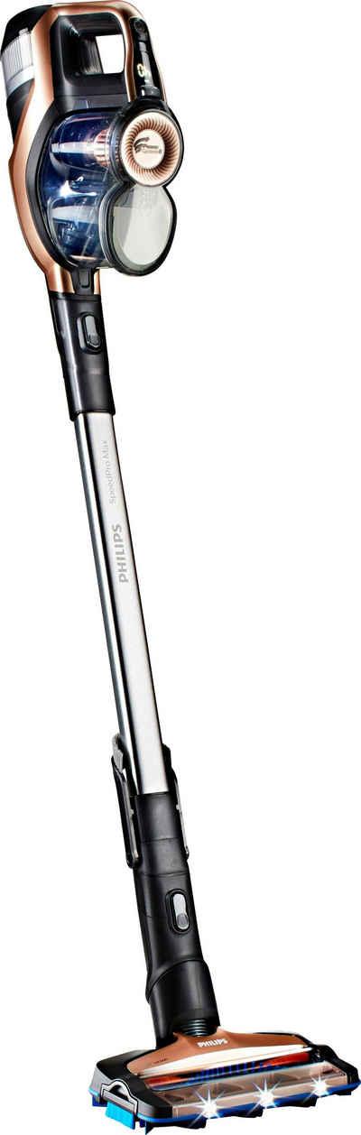 Philips Akku-Stielstaubsauger SpeedPro Max FC6826/01, beutellos, 65 Min. Akkulaufzeit