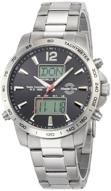 MASTER TIME Funkchronograph »MTGS-10648-25M«