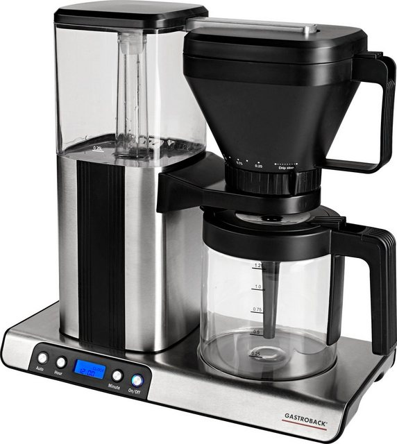 Gastroback Filterkaffeemaschine Design Brew Advanced 42706 Papierfilter 1x4