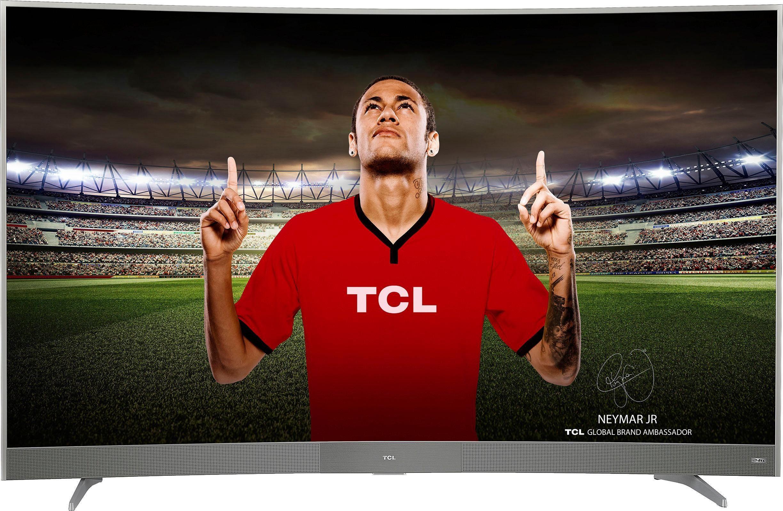 TCL U55P6096 Curved-LED-Fernseher (55 Zoll, 4K Ultra HD, Smart-TV)
