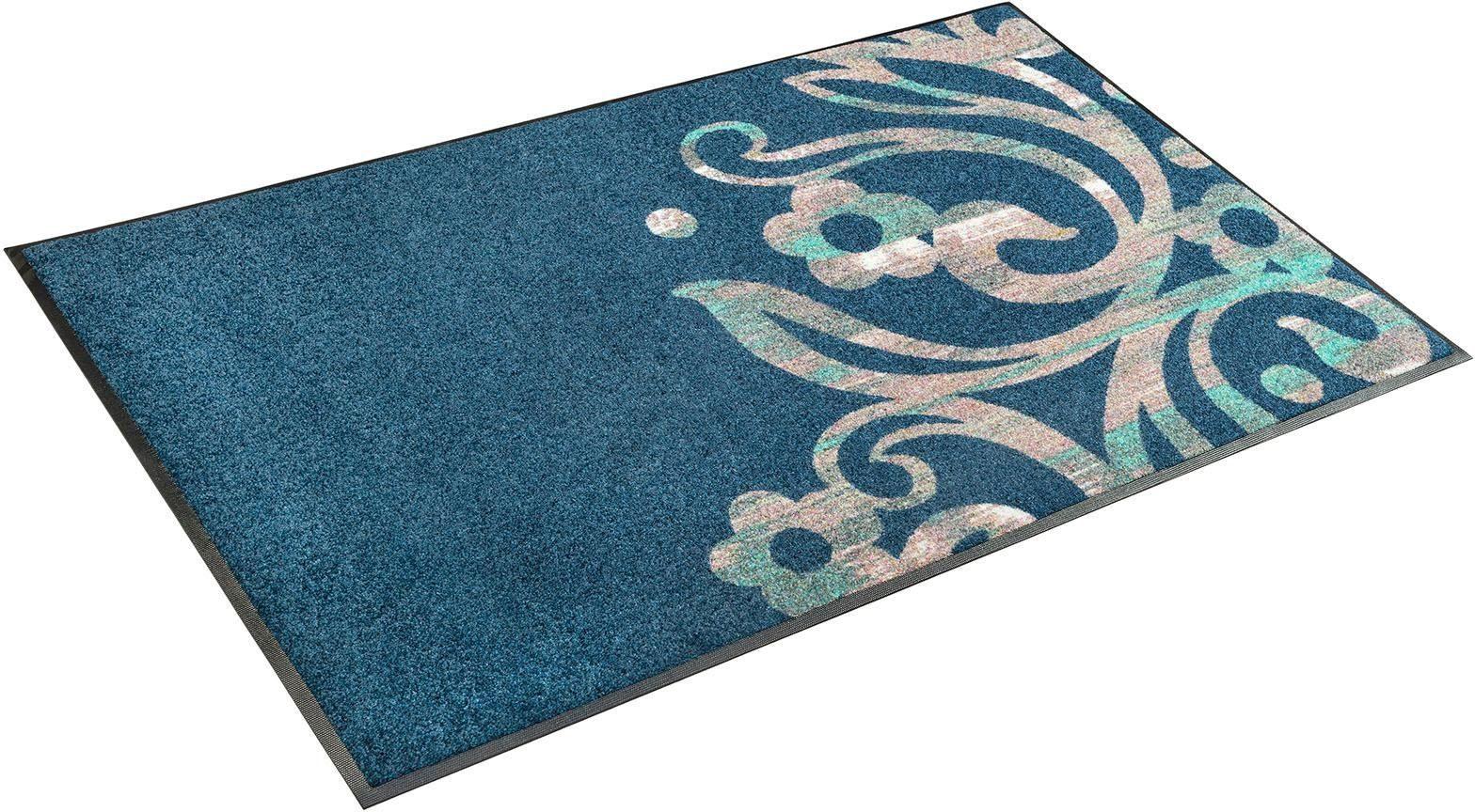 Teppich »Otilia«, wash+dry by Kleen-Tex, rechteckig, Höhe 7 mm