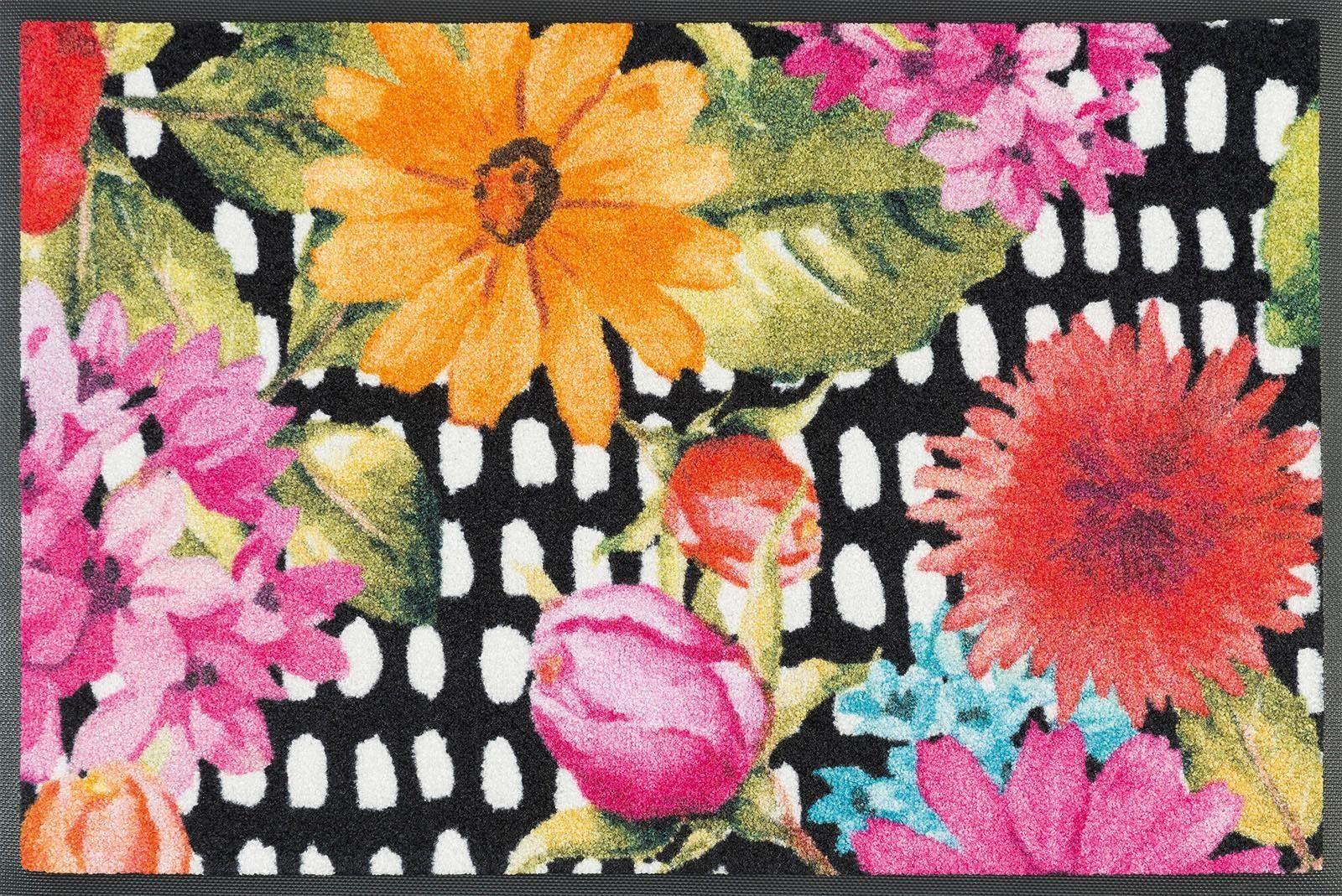 Fußmatte »Kelly«, wash+dry by Kleen-Tex, rechteckig, Höhe 7 mm