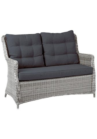 BEST Sodo sofa »Barcelona« Polyrattan ir Sė...