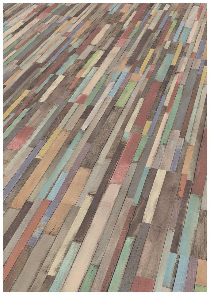 Laminat Bunt egger laminat »egger home dimas wood bunt«, 1292 x 192 mm, stärke: 7
